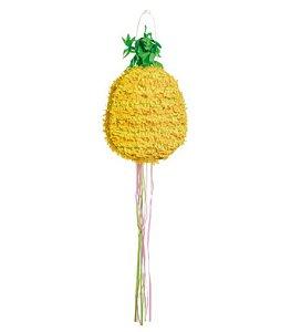 Pinhata Para Festa Infantil Formato Abacaxi 42cm - 01 unidade - Cromus - Rizzo Festas