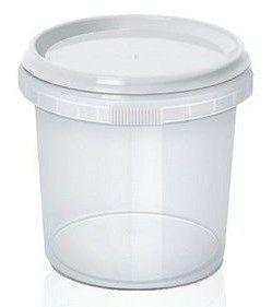 Pote com Lacre Redondo 220ml -  WS Plásticos Rizzo Embalagens