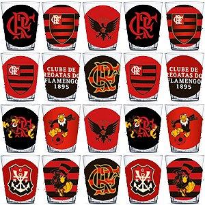 Copinho para Doces 40ml Festa Flamengo - 20 unidades - Rizzo Festas