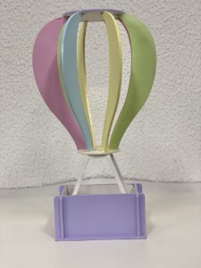 R25 - Decoração de MDF - Balão de Mesa - G - 01 Unidade - Mara Móveis - Rizzo Festas
