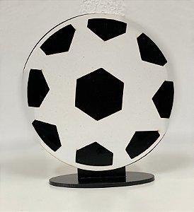 R25 - Decoração de MDF  - Bola de Futebol - 01 Unidade - Mara Móveis - Rizzo Festas