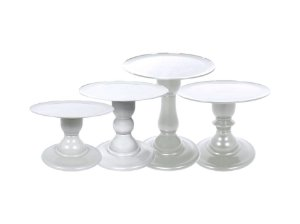 Boleira Mosaico - Liso - Branco - Tamanhos  P, M, G e GG - 01 Unidade - Só Boleiras - Rizzo Festas