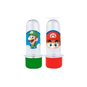 Mini Tubete Lembrancinha Festa Mario - 8cm - 10 unidades -  Rizzo Embalagens e Festas