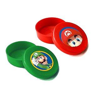 Latinha Lembrancinha Festa Mario - 5cm x 1,5cm 10 unidades - Rizzo Embalagens e Festas