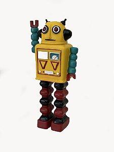 Enfeite Resina Robô - 01 Unidade - Art Lille - Rizzo Festas