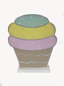 Enfeite Cupcake - 01 Unidade - Mara Moveis - Rizzo Festas