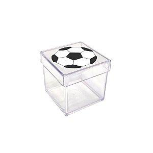Caixinha Acrílica para Lembrancinha Festa Futebol - 20 unidades - Rizzo Festas