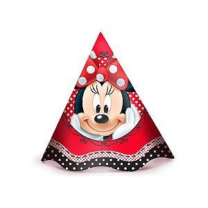Chapéu Festa Minnie - 8 unidades - Regina - Rizzo Festas