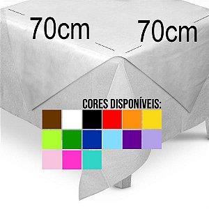 Toalha de Mesa Quadrada Cobre Mancha em TNT (70cm x 70xm) 5 unidades - Best Fest - Rizzo Embalagens