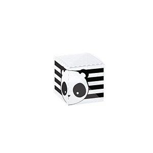 Caixa Clean 1 Festa Panda 4 x 4 x 4cm - 10 unidades - Cromus - Rizzo Embalagens