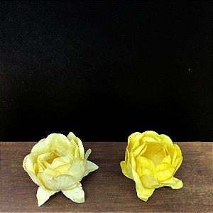 Forminha para Doces Finos - Bela Duo Amarelo Claro e Amarelo Bebê - 20 unidades - Decora Doces - Rizzo Festas