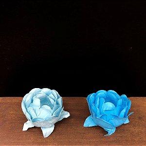 Forminha para Doces Finos - Bela Duo Azul Claro e Azul Bebê - 20 unidades - Decora Doces - Rizzo Festas