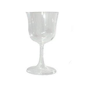 Taça de Vinho 160ml  Cristal Desmontável - 05 Unidades - Descarfest - Rizzo Festas