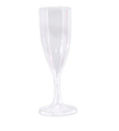 Taça de Vinho 140ml Cristal Desmontável - 05 Unidades - Descarfest - Rizzo Festas