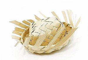 Forminha para Doces - Mini Chapéu de Palha - 01 unidade - Rizzo Festas