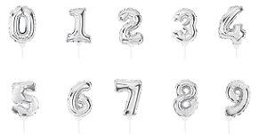 Mini Balão Autoinflável Prata - 01 Unidade - Cromus Festas - Rizzo Festas