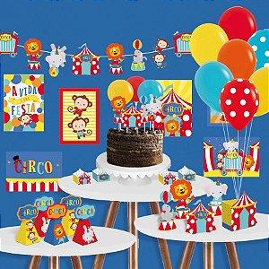 Kit Festa Circo Cromus - Rizzo Festas