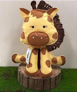Girafa do Safári em Feltro - 01 Unidade - Pé de Pano - Rizzo Festas