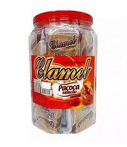 Paçoca Molecão Pote 1,2Kg - Clamel - Rizzo Festas