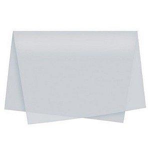 Papel de Seda - 48 x 60cm - Prata - VillaPack - Rizzo Embalagens