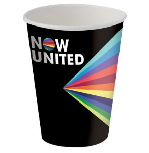 Copo de Papel 200ml Festa Now United - 08 Unidades - Festcolor - Rizzo Festas