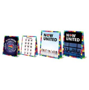 Decoração de Mesa Festa Now United - 04 Unidades - Festcolor - Rizzo Festas