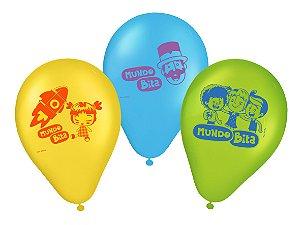 Balão Festa Mundo Bita - 25 unidades - Regina Festas - Rizzo Embalagens e Festas