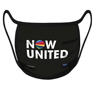 Máscara de Proteção Festa Now United - 01 Unidade - Festcolor - Rizzo Festas