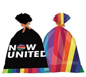 Sacola de Lembrancinha Festa Now United - 08 Unidades - Festcolor - Rizzo Festas