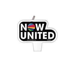 Vela Plana Festa Now United - 01 Unidade - Festcolor - Rizzo Festas