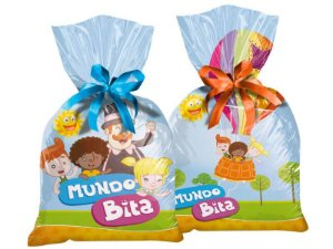 Sacola Surpresa Mundo Bita - 08 Unidades - Regina Festas - Rizzo Festas