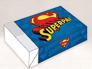 Caixa Divertida para 6 doces Super Pai Ref. 566 - 10 unidades - Erika Melkot Rizzo Embalagens