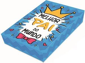 Caixa Divertida para 12 doces Melhor Pai Ref. 809 - 03 unidades - Erika Melkot Rizzo Embalagens