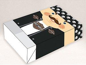 Caixa Divertida para 6 doces Pai Harley Ref. 1038 - 10 unidades - Erika Melkot Rizzo Embalagens