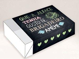 Caixa Divertida para 6 doces Alface Brigadeiro Ref. 484 - 10 unidades - Erika Melkot Rizzo Embalagens