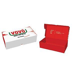 Caixa Pratice (8 Doces) Vovó Especial Ref.2740 - 10 unidades - Rizzo Embalagens