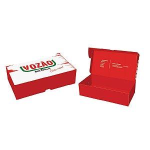 Caixa Pratice (8 Doces) Vozão Especial Ref.2734 - 10 unidades - Rizzo Embalagens