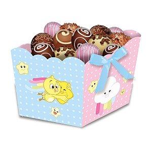 Cachepot Festa Galinha Pintadinha Candy - 8 unidades - Festcolor - Rizzo Festas