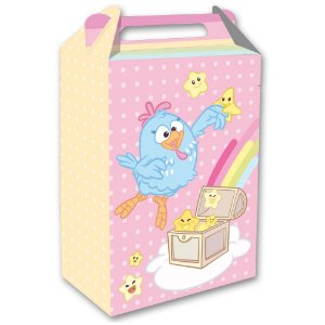 Caixa Surpresa Festa Galinha Pintadinha Candy - 8 unidades - Festcolor - Rizzo Festas