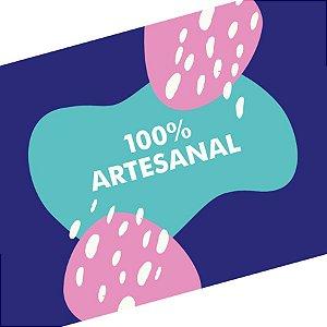 Rótulo e Tira Decorativa 100% Artesanal - Tam P / M / G - 5 unidades - Rizzo Embalagens