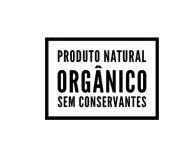 Carimbo Artesanal Produto Natural Orgânico sem Conservantes - M - 6,0x4,3cm - Cod.RI-019- Rizzo Embalagens