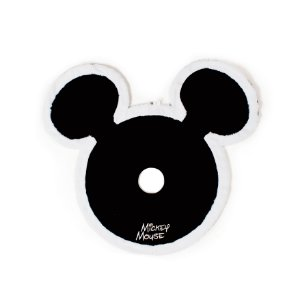 Saia para Árvore Mickey Preto e Branco 100cm - 01 unidade - Natal Disney - Cromus - Rizzo Embalagens