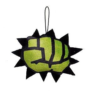 Enfeite para Pendurar Punho do Hulk Avengers 10cm - 01 unidade - Cromus Natal - Rizzo Embalagens