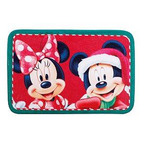Tapete Mickey e Minnie - 01 unidade Natal Disney - Cromus Natal - Rizzo Embalagens