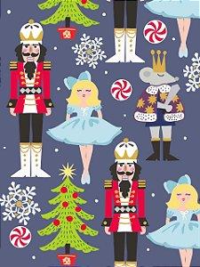 Estampa para Moldura - Natal Mix - 01 unidade - Rizzo Embalagens e Festas
