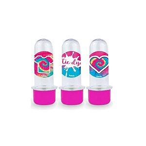 Mini Tubete Lembrancinha Festa Tie Dye - 8cm - 10 unidades -  Rizzo Embalagens e Festas