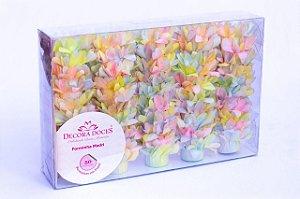 Forminha para Doces Finos - Madri Tie Dye Candy Color - 50 unidades - Decora Doces - Rizzo Festas