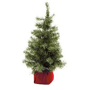 Mini Árvore Verde 65cm - 01 unidade - Cromus Natal - Rizzo Embalagens