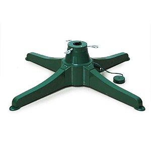 Base Giratória Verde para Árvore até 2,30m - 01 unidade - Cromus Natal - Rizzo Embalagens