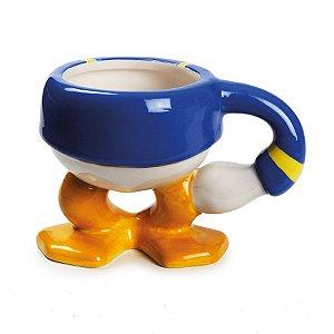 Caneca de Cerâmica Pato Donald 200ml - 01 unidade - Cromus Natal - Rizzo Embalagens